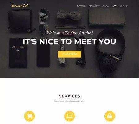 agency screenshot